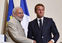Prime Minister Narendra Modi and President Emmanuel Macron